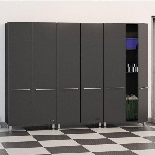 Images for Ultimate Garage 3 Piece Garage Cabinet Kit in Graphite Grey & Black
