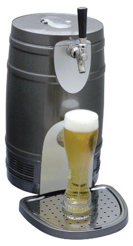 Koolatron KTB05BN 5-Liter Beer Keg Chiiler, Silver (Draft Beer Fridge compare prices)