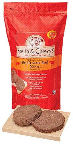 Stella & Chewy's Frozen Stella's Super Beef Dinner for Dog, 6-Pound_Image1