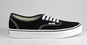 Vans Authentic Black White Men Size Sneakers 0EE3BLK (16)