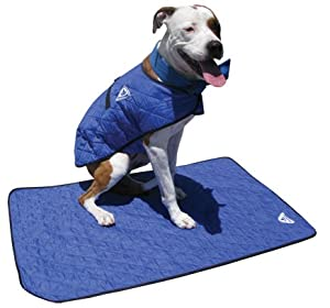 evaporative dog cooling mats blue small. Black Bedroom Furniture Sets. Home Design Ideas