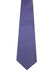 Navaksha Navaksha Purple Tie With Checks