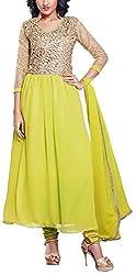 Fabiola Trendz Women's Cotton Silk Unstitched Dress Material (Pink)