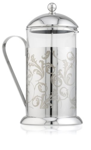 La Cafetiere Arabesque Stainless Steel Decorated Coffee Press 8C.