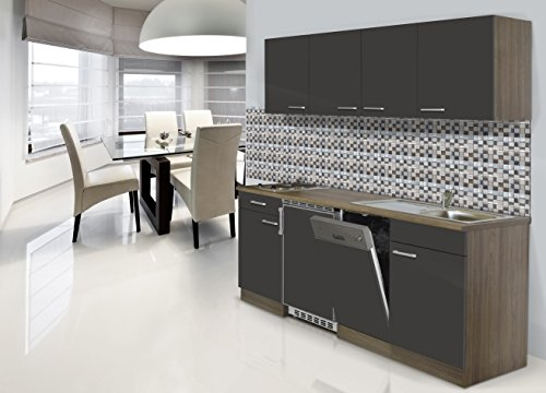 respekta-CERAN-Single-Cocina-Bloque-de-cocina-195-cm-York-de-roble-gris