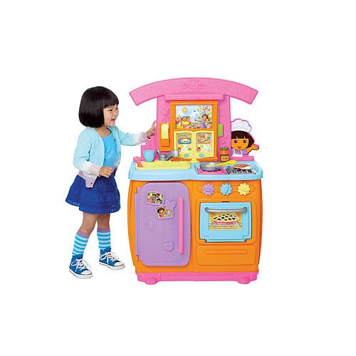 41nvB2od3sL Cheap Buy  Fisher Price Dora Fiesta Favorites Kitchen
