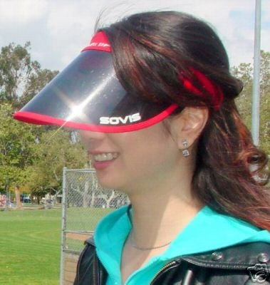 SOVIS 99% UVA/UVB Facial Protection Sun Cap Solar Visor Hat Worldwide Patented