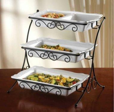 shop for best adjustable 3 tier buffet server with wrought iron can rh ironbuffetn1 blogspot com 3 tier buffet server canada 3 tier buffet server sam's club