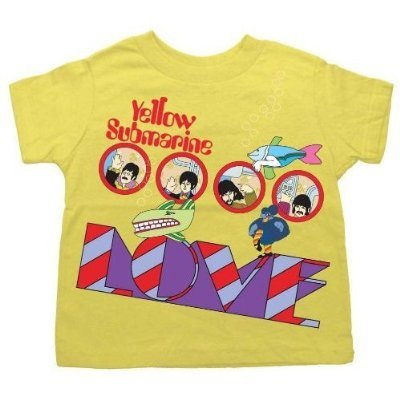Beatles LOVE - Yellow Submarine Toddler T-shirt (2T)