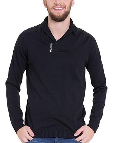 Big Star Jersey Cende_Sweater Negro