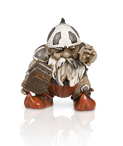 """Garden Battle Gnome with Hammer 4"""""""