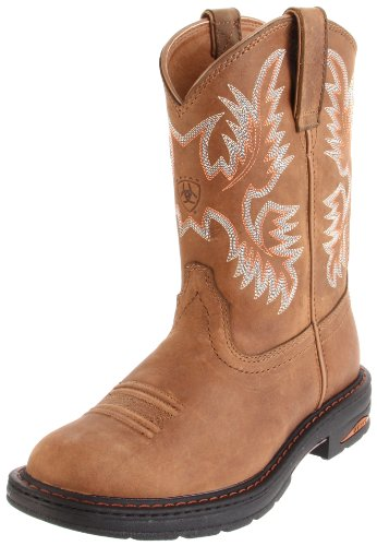 Ariat Women's Tracey Pull-On Boot,Dusted Brown,9 W US