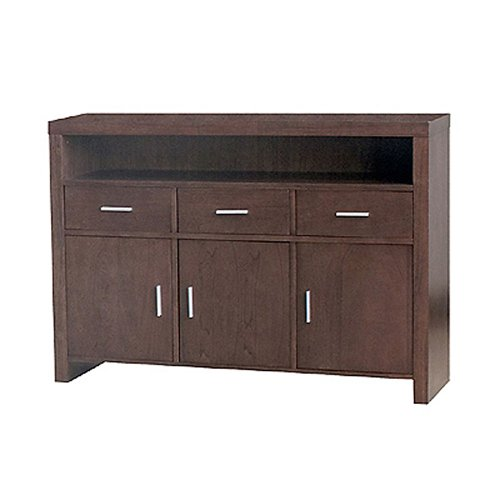 Cheap DonnieAnn Guildford Chestnut Console/Sofa Table with 3 Drawers and 3 Doors (B004FPGLPY)