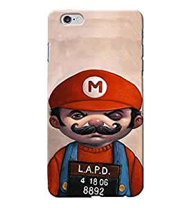 Sai APH Printed Hard Back Cover for Apple Iphone 6