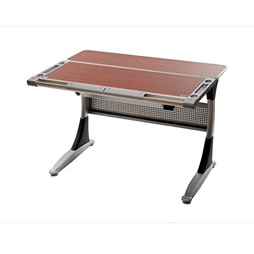 Posturedesks Elite V2 Height Adjustable Tilting Standing Desk - Cherry