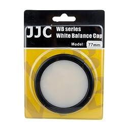 JJC WB-77 77mm White Balance Lens Filter Cap