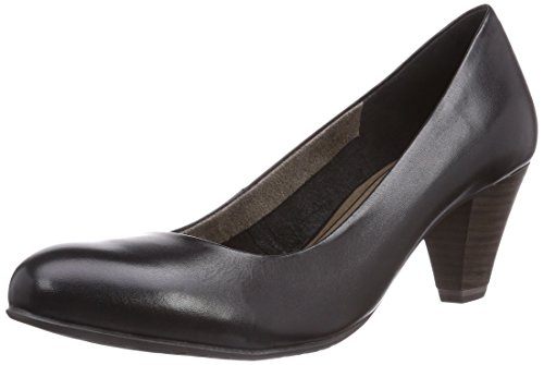 Tamaris 22400, Decolleté chiuse donna, Nero (Nero (Black 001)), 40