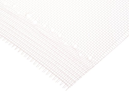 "Polyester Mesh Roll, White, 200 Microns Square Opening, 43% Open Area, 104 Microns Thread Diameter, 40"" Width, 2.5 Yards Length"
