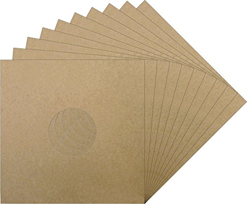 10-12-Kraft-Brown-Vinyl-Record-Album-Jackets-with-a-Hole