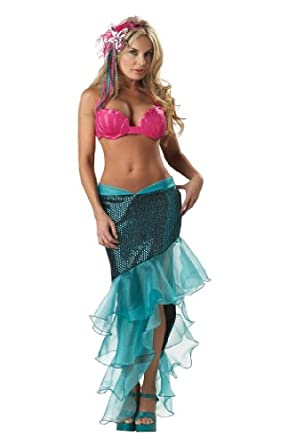 Amazon.com: Sexy Adult Premier Sea Goddess Mermaid Costume - Womens