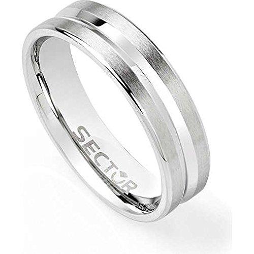 anello uomo gioielli Sector Row misura 19 sportivo cod. SACX01019