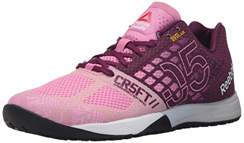 Reebok Women's Crossfit Nano 5.0 Training Shoe, Icono Pink/Celestial Orchid, 7.5 M US (Reebok Running Gear compare prices)