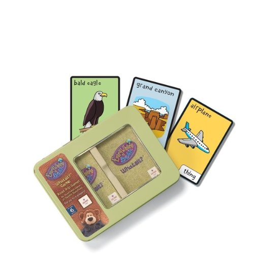 "Gund EveryWhere Bear Road Trip Game Travel Trivia 6.5"" by Gund - 1"