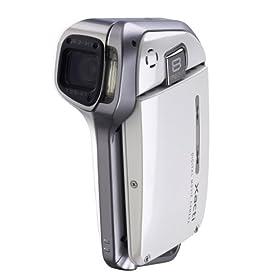 Sanyo Xacti VPC-E2 Digital Camcorder and 8 MP Digital Camera (White)