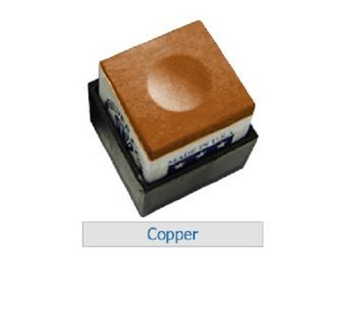 One Dozen Copper Silver Cup Pool Cue Chalk
