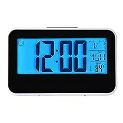 Baishitop Fashion Creative Smart Clock Digital Alarm-3.93 inch Display