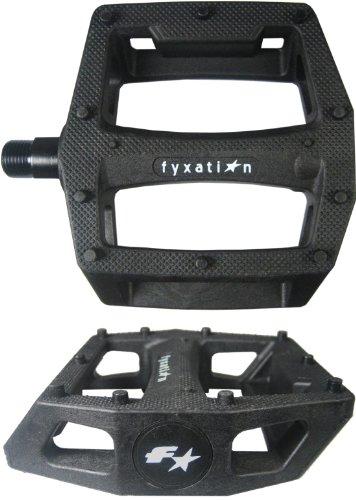 NEW Fyxation Gates PC Pedals Black