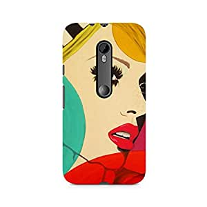 Ebby Vintage Chick Premium Printed Case For Moto X Style