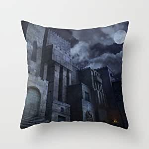 Throw Pillow Bulk : Amazon.com - 18*18inches Wholesale pillow cover The Castle Throw Pillow