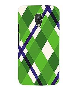 Fuson 3D Printed Pattern Designer Back Case Cover for Motorola Moto G2 - D995
