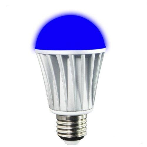 Bluetooth Wireless Control Multicolor Led Light Bulb - Great For Parties , Romantic Lighting And Gifts For Iphone Or Ipad Smart Control Of Your Lighting - E26 Medium Base -7W