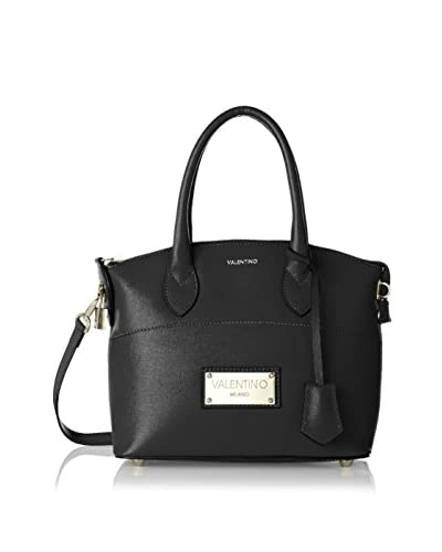 Valentino Bags by Mario Valentino Women's Brav Mini Convertible Satchel, Black