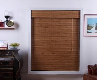Tuscany Bamboo Roman Shade - Free Shipping, 26x54