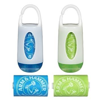 Munchkin Arm & HammerDiaper Bag Dispenser and Bags, 2-Count
