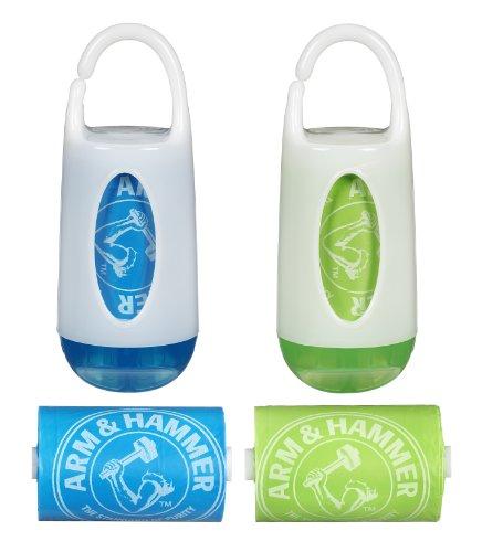 Munchkin Arm & HammerDiaper Bag Dispenser and Bags, 2-Count - 1