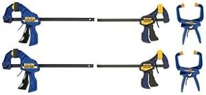 IRWIN Tools VISE-GRIP Clamp Set, 6-Piece (SET150)