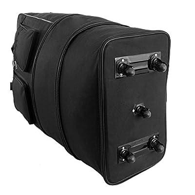 Extra Large 36 Inch Wheeled Cargo Folding Holdall Travel Duffle Bag - 140 Litres Super Lightweight