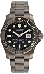 Victorinox Swiss Army Men's 241264 Dive Master 500 Ice Black Dial Watch