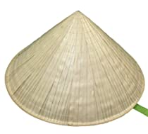 Straw Chinese Hat, Pack of 2 hats
