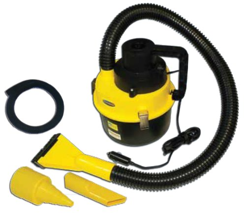 Powerful Auto Vacuum Wet Dry Cleaner And Air Inflator 12v