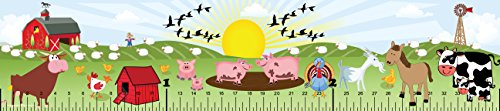Mona Melisa Designs Baby Growth Chart, Farm