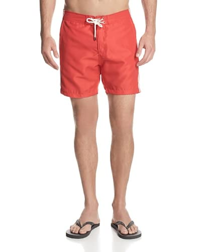 Mr. Swim Men's Solid with Side Logo Board Shorts
