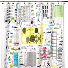 Kate Spade About Town Shower Curtain Kate Spade Home