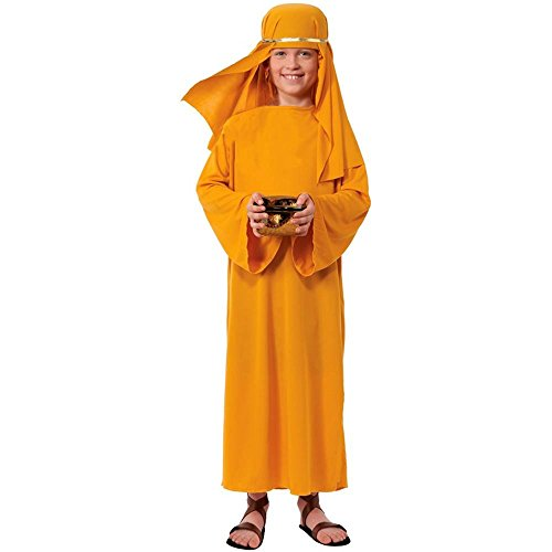 Nativity Wiseman Gold Robe Kids Costume