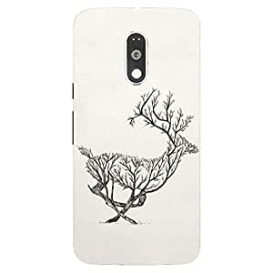 Back cover for Moto G (4th Gen) Beer Tree