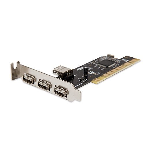 SYBA SD-LP-NEC4U PCI USB 2.0 Low Profile 4-Port (3+1) Card with NEC Chipset NEC720102